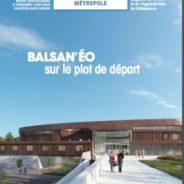 Mai 2018 : Pose de la 1ère pierre du Centre aquatique BALSAN'eo