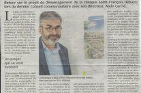 NR 3 juin 2021 Clinique St François sur le site Balsan en 2025