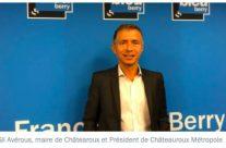 4 Avril 2021 Une Marianne d'Or pour le maire de Châteauroux Gil Avérous