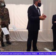 3 septembre 2021 Visite de la Ministre Florence PARLY du site Marck & Balsan à Montierchaume