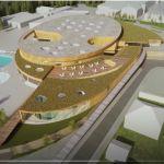 Plan d'architecte : Vue aérienne