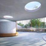 Plan d'architecte : puits de lumière